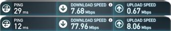 ISP1 vs. ISP2